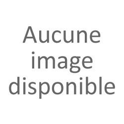 Nappe en papier rectangulaire Noël argentée et blanche 134x500cm