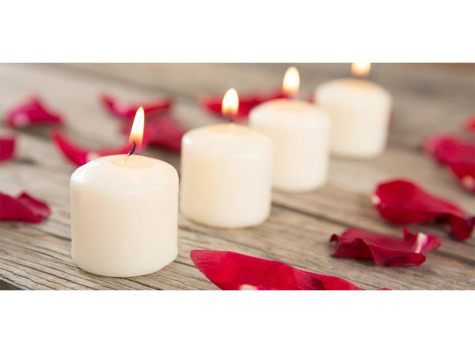 Fêtez la Saint-Valentin avec des pétales de rose